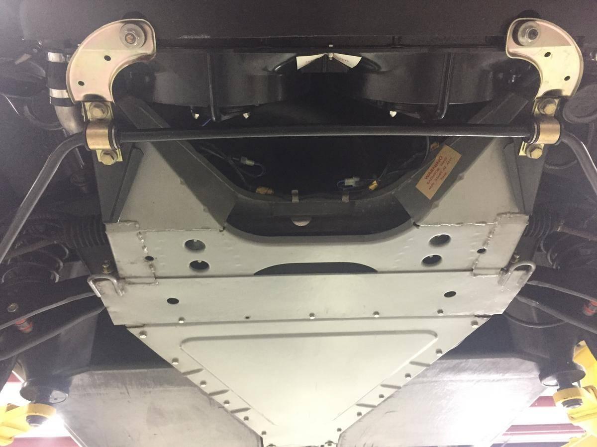 DeLorean Front Undercarriage