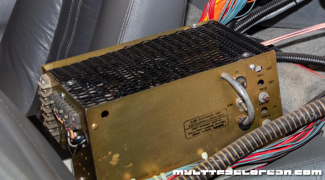 DeLorean Gold Box
